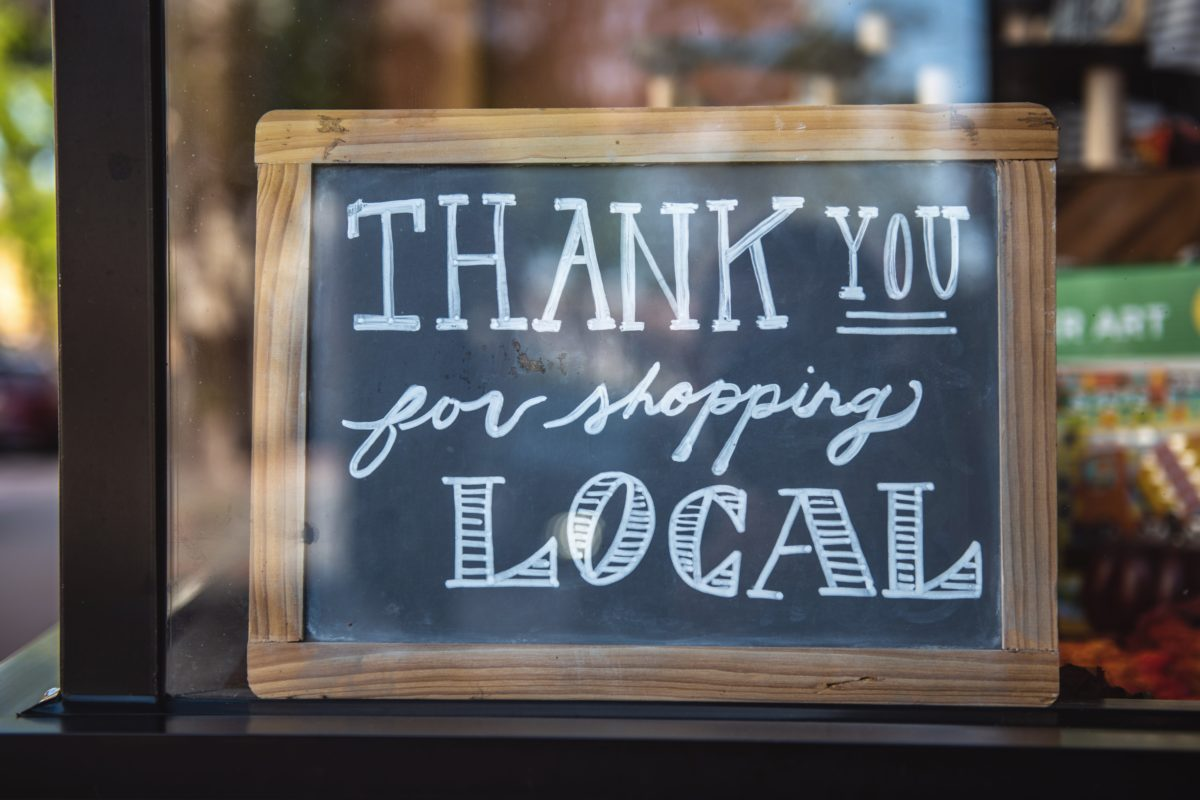Thank You For Shopping Local - Help Small Businesses During the Industry Pivot