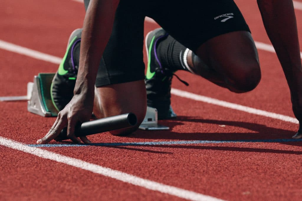 Business is like a track event